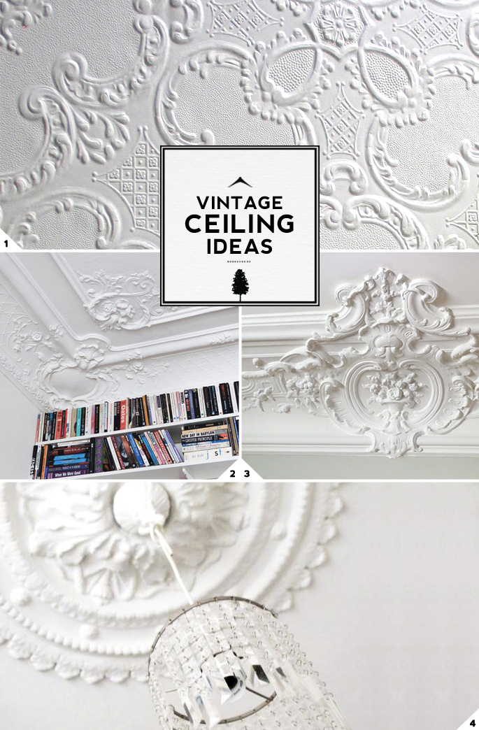 3 Unique Vintage Ceiling Design Ideas