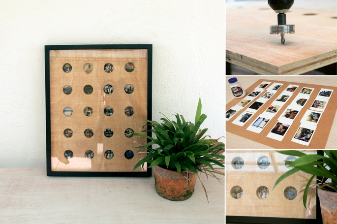Travel Photos Display Frame DIY