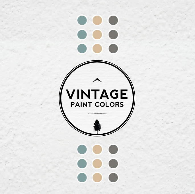 Vintage Paint Colors and Palette Home Style Guide