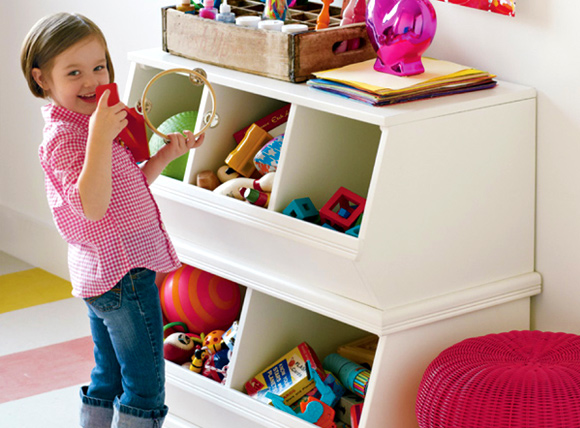 11 Hassle Free Kids Toy Storage Ideas: #1 Storage cubes