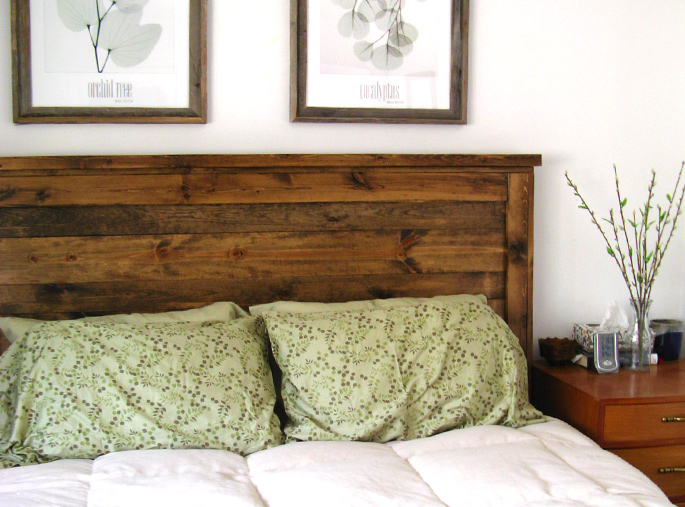 15 Ideas and Secrets For Making DIY Wooden Headboards Look Expensive #1: Finish With Style - Creating a border