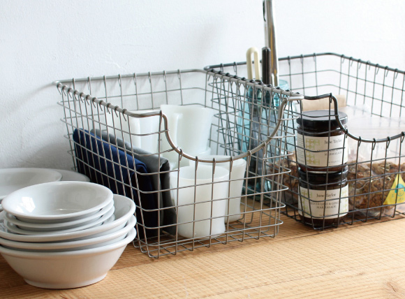 What Vintage Home Decor Pieces Can You Buy For Under $12? #1 A scoop basket