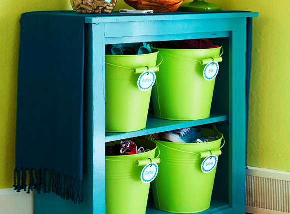 11 Hassle Free Kids Toy Storage Ideas: #2 Large containers