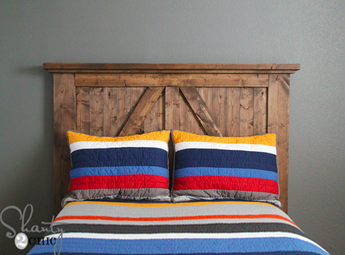 15 Ideas and Secrets For Making DIY Wooden Headboards Look Expensive #2: Finish With Style - Trim Pieces