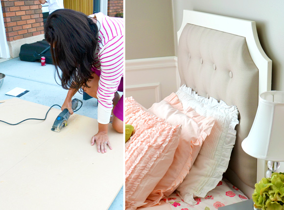 How to Design Your Own DIY Tufted Headboard in 4 Steps: Step #2 A border?