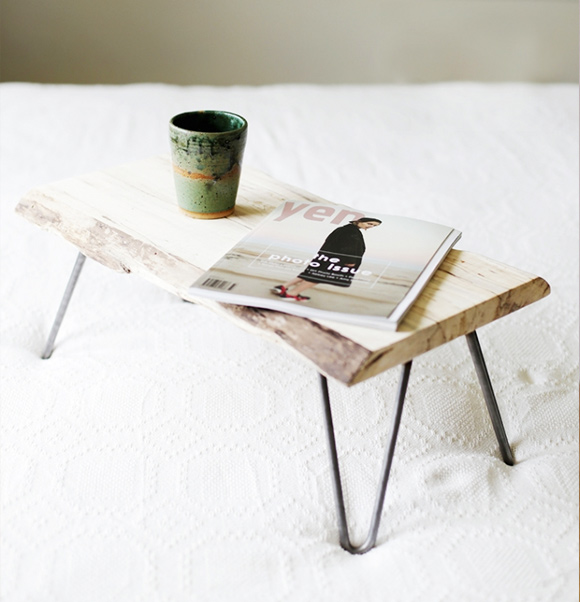 One Day Builds: 9 Simple and Easy DIY Projects Using Hairpin Legs: #4 The lap desk