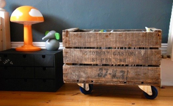 11 Hassle Free Kids Toy Storage Ideas: #5 Crates