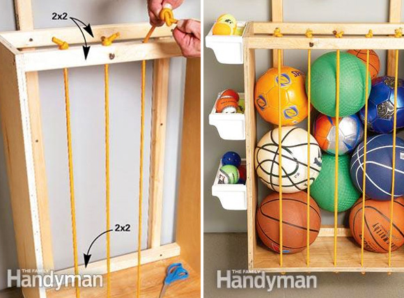 11 Hassle Free Kids Toy Storage Ideas: #11 Outdoor toy storage