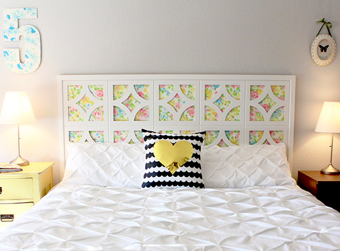 15 Ideas and Secrets For Making DIY Wooden Headboards Look Expensive #7: Getting crafty