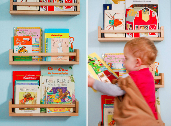 7 Friendly Kids Room Storage Ideas: #7 Book Storage