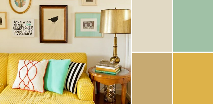 Vintage Paint Colors and Palette Home Style Guide | Home Tree Atlas