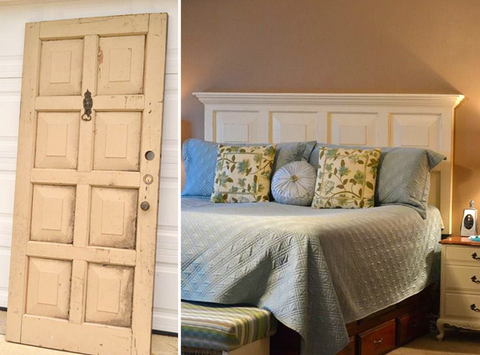 15 Ideas and Secrets For Making DIY Wooden Headboards Look Expensive #10: The conversion