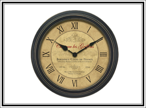 What Vintage Home Decor Pieces Can You Buy For Under $12? Splurge Item #2 Vintage wall clock
