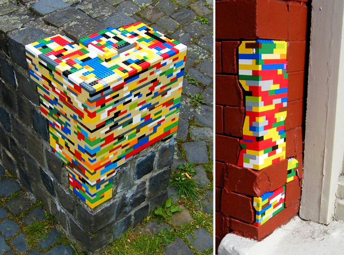 21 Insanely Cool DIY LEGO Furniture and Home Decor Creations: #21 Home fixes?