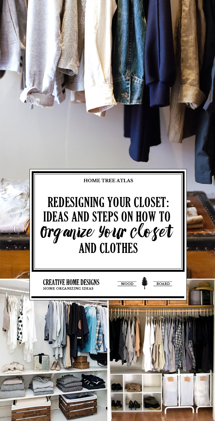 ReDesigning Your Closet: Ideas and Steps on How To Organize Your ...