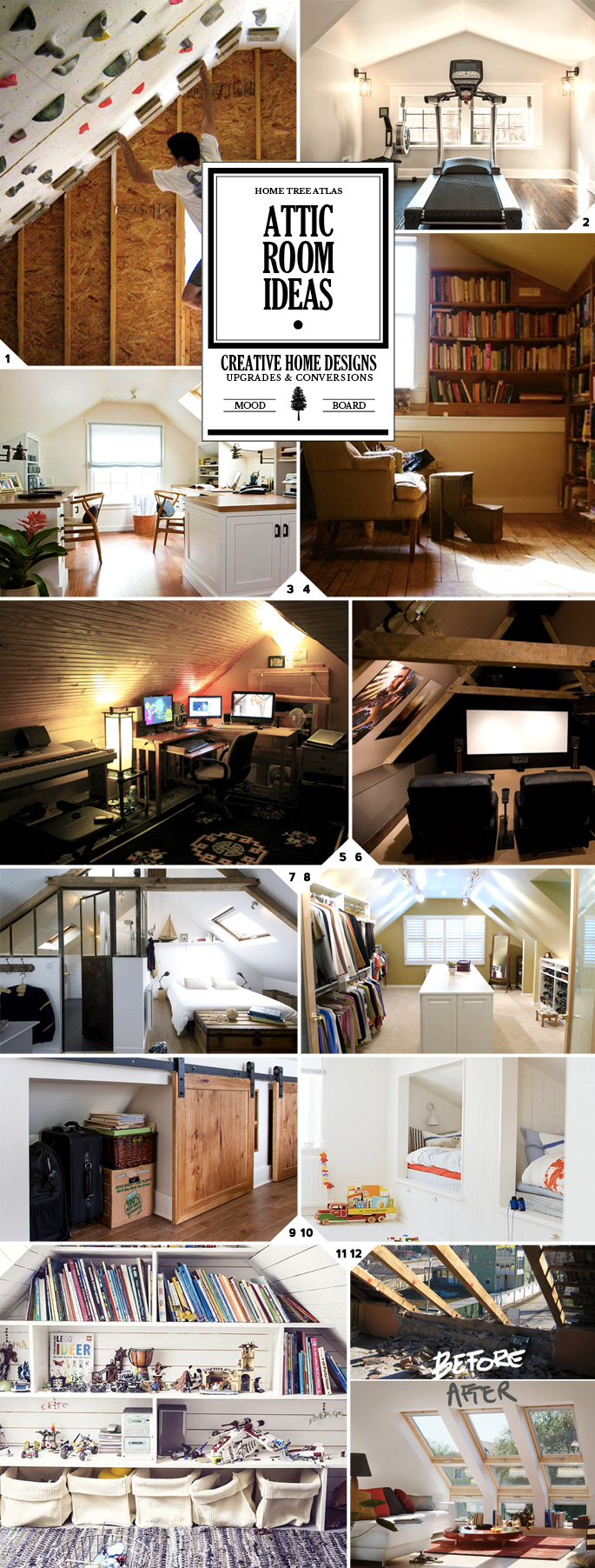 Attic Rooms - 11 Different Conversion Ideas