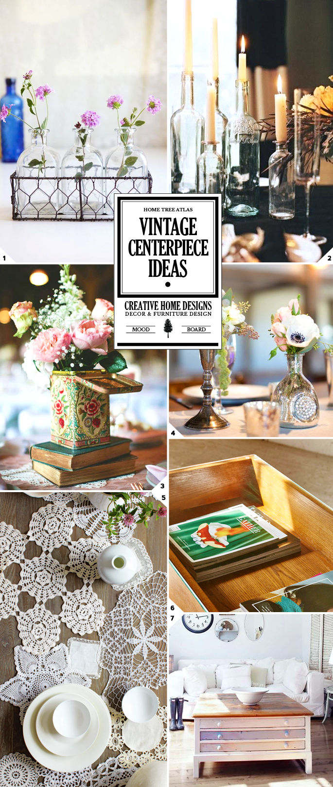 Table Decor: Vintage Centerpiece Ideas