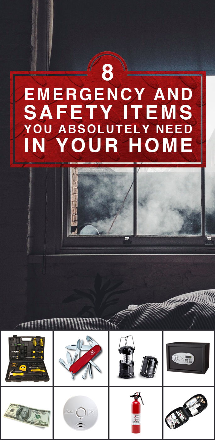 8 Emergency and Safety Items You Absolutely Need In Your Home