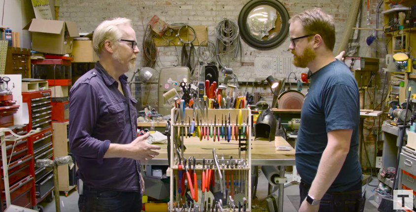 Adam Savage DIY Tool Caddy - Mini Desktop Version