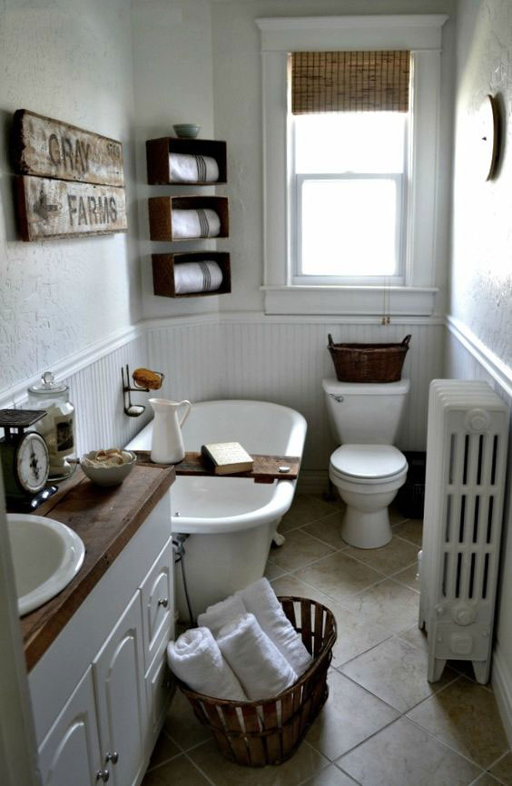 Vintage and Rustic Farmhouse Decor Ideas: Design Guide ...