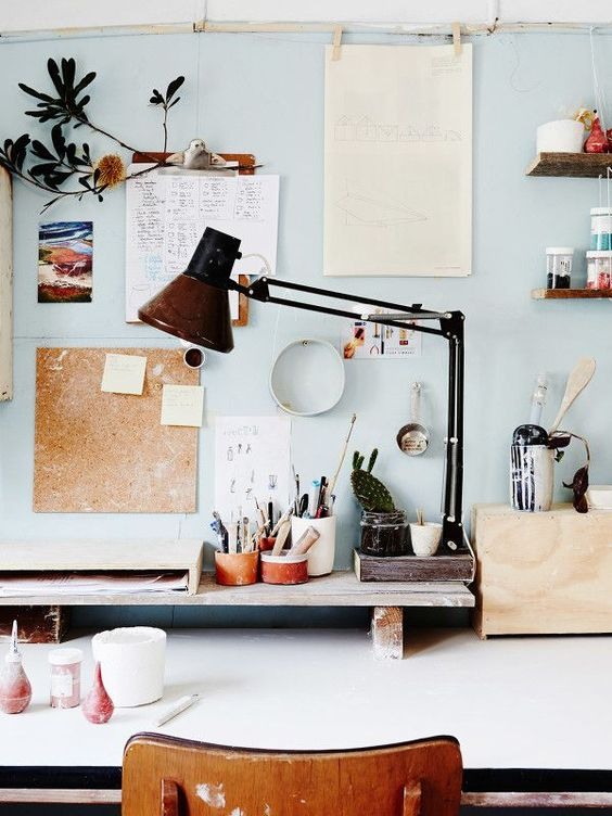 Blue home office ideas and decor tips
