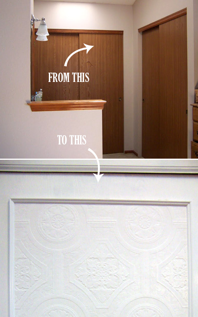 Diy Challenge Give Your Closet Doors A Makeover Ideas And Design