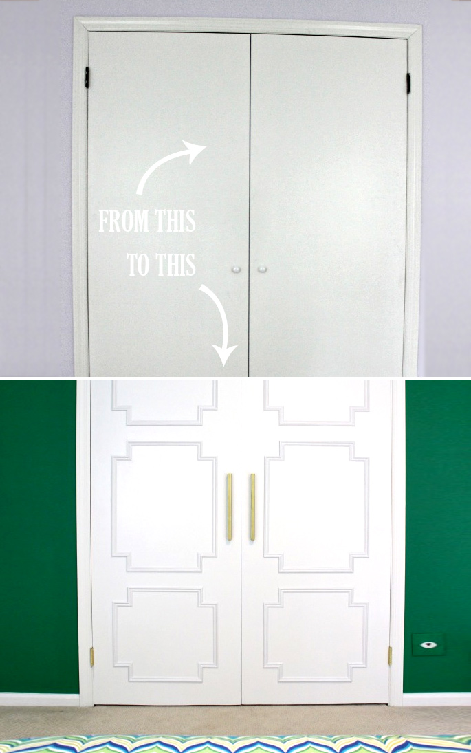 DIY closet door ideas