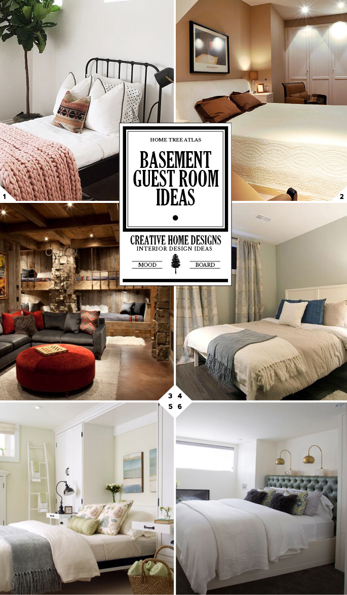 The Hotel Experience: Basement Guest Room Ideas