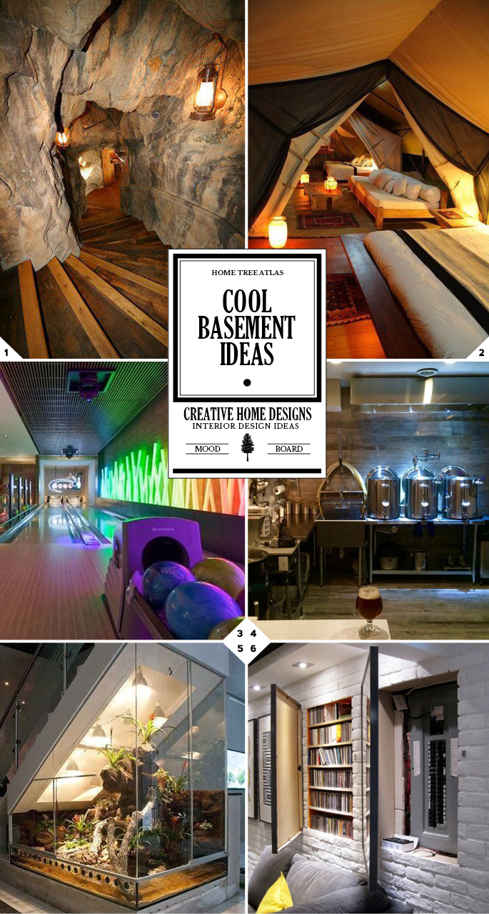 39 Cool Basement Ideas: From Secret Doors To Your Own Brewery