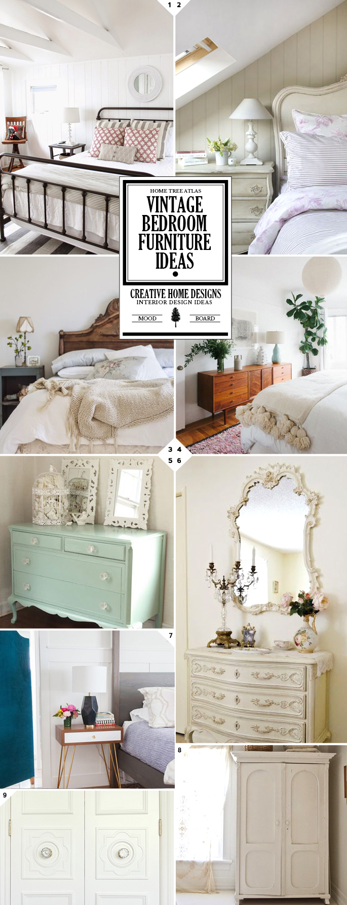 Styling Your Space: Vintage Bedroom Furniture Ideas