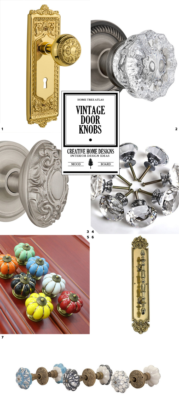 Shopping Guide: Vintage Door Knobs And Hardware
