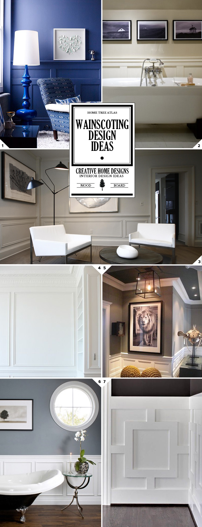 The Finishing Touch: Wainscoting Ideas and Designs