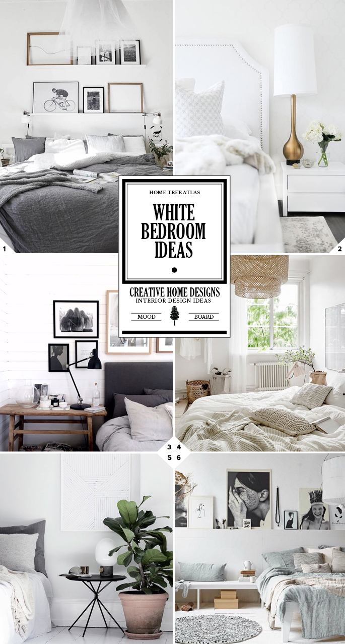 all white bedroom ideas a design and color choice guide home tree atlas. Black Bedroom Furniture Sets. Home Design Ideas