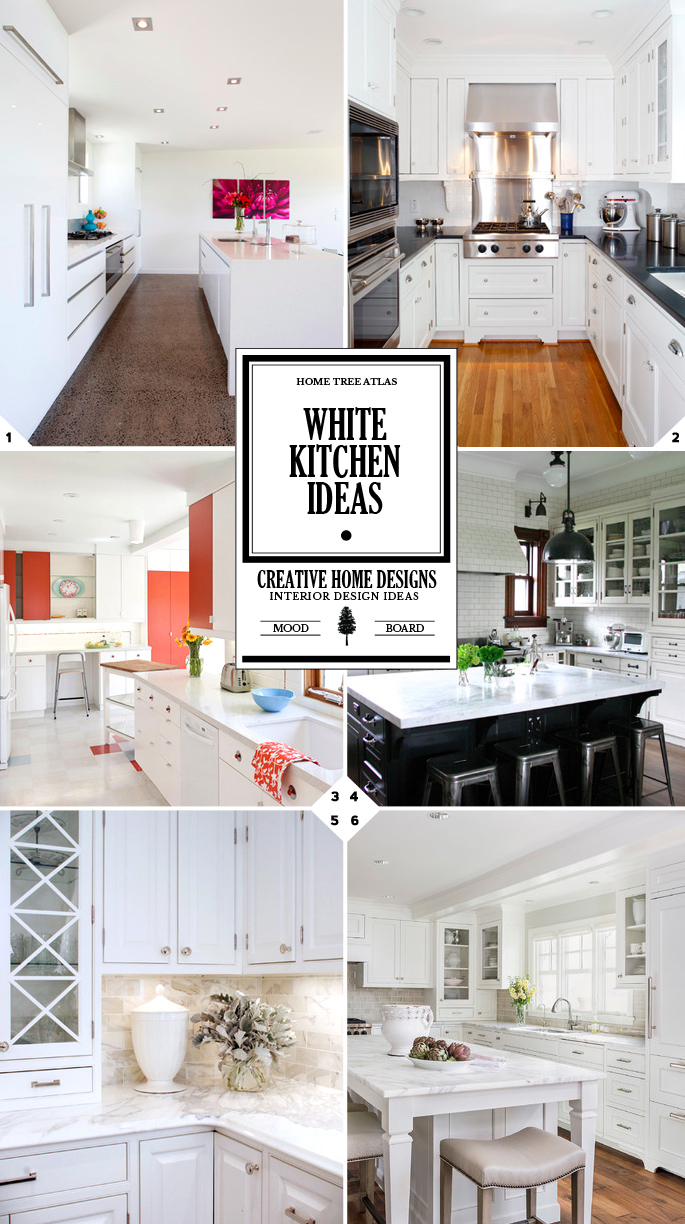 White Kitchen Ideas: How to style a kitchen in white