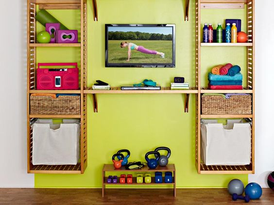 Keeping Fit: Simple home gym ideas