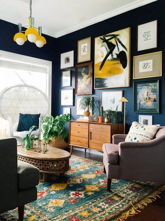 Makeover Guide Blue Living Room Ideas Home Tree Atlas