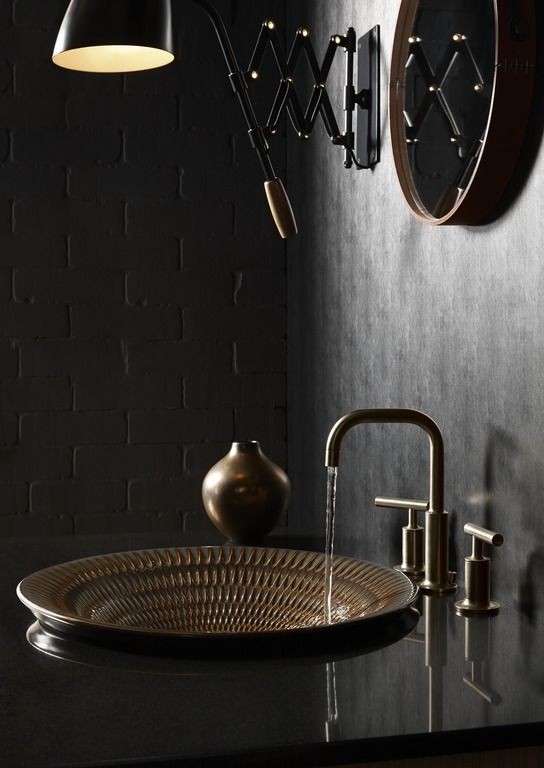 Black bathroom ideas and decor tips