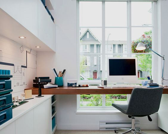 Modern home office decor ideas