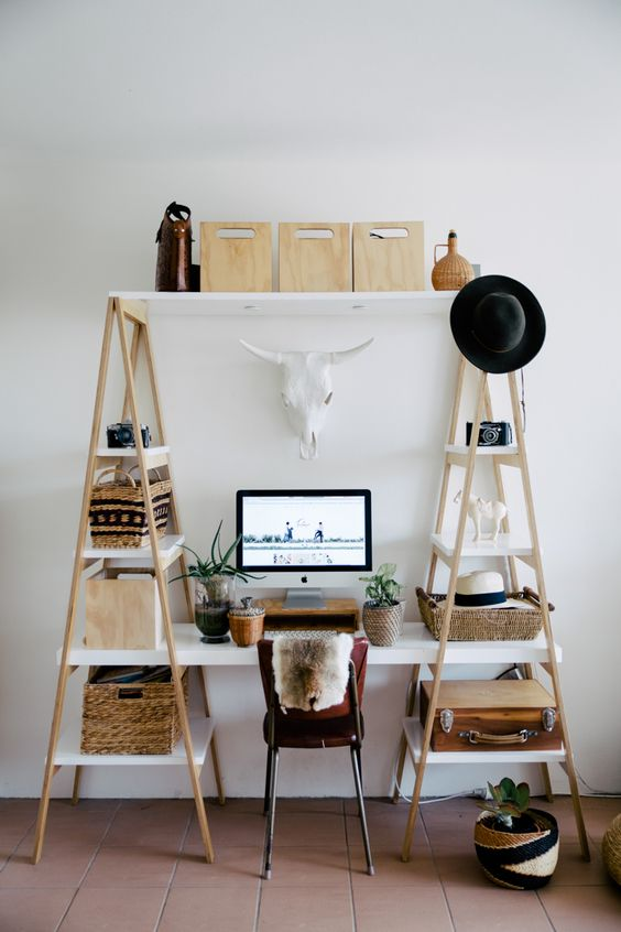 DIY small desk ideas for your home office