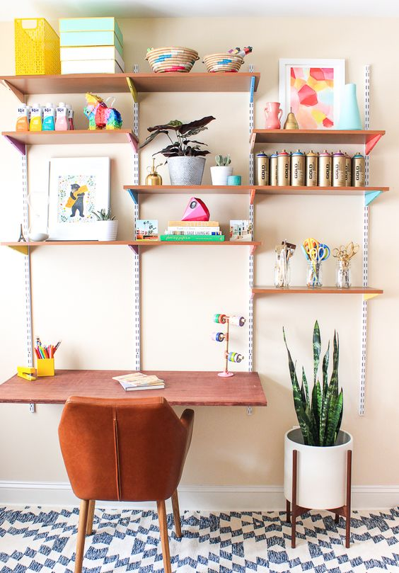 DIY desk ideas for your home office