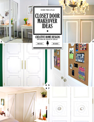 Closet Door Makeover Ideas