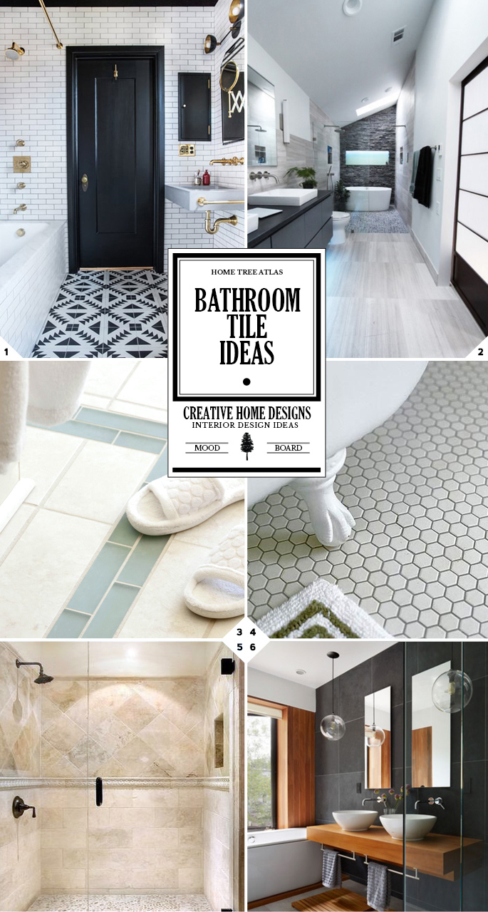 Notes from a Remodel: Bathroom Tile Ideas