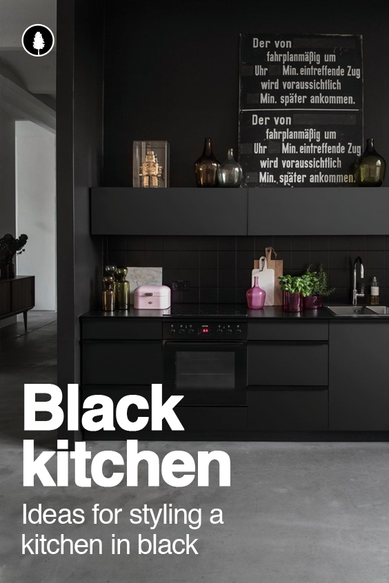 Style Guide: Black kitchen ideas and designs