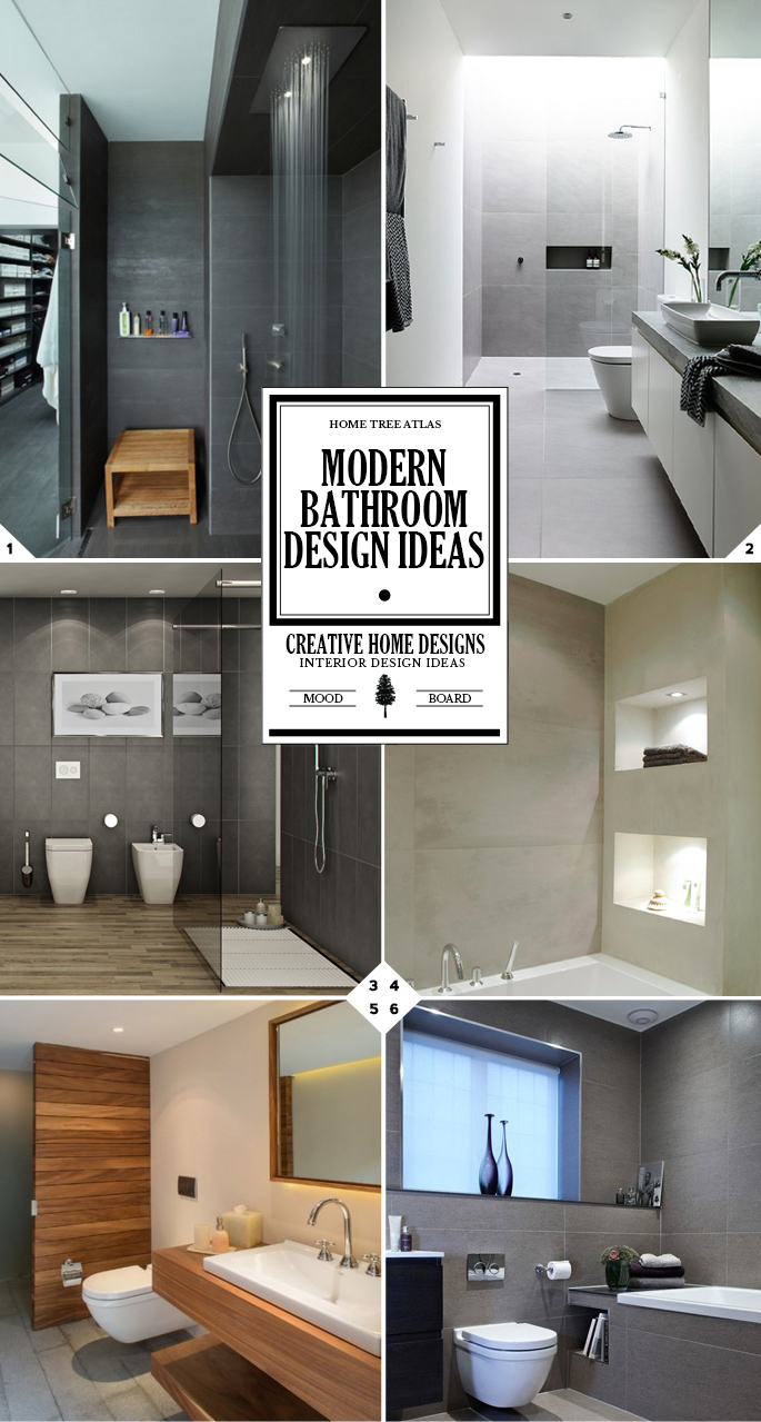 Modern Bathroom Design Ideas: From Lighting Design to Color Choice