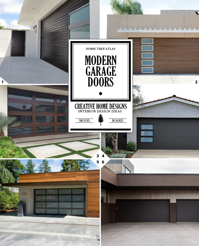 Curb Appeal: Design Tips For Modern Garage Doors