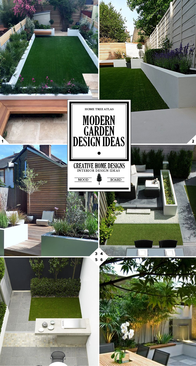 Style Guide: Modern Garden Design Ideas