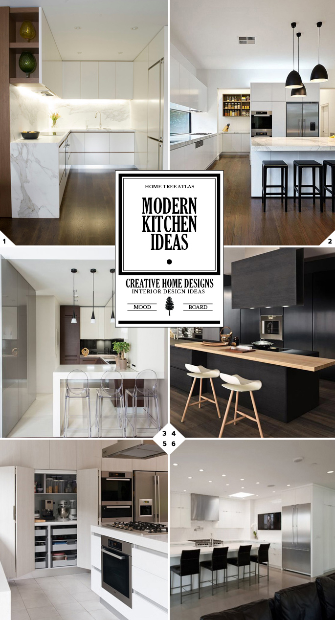 The Right Style: Modern Kitchen Design Ideas