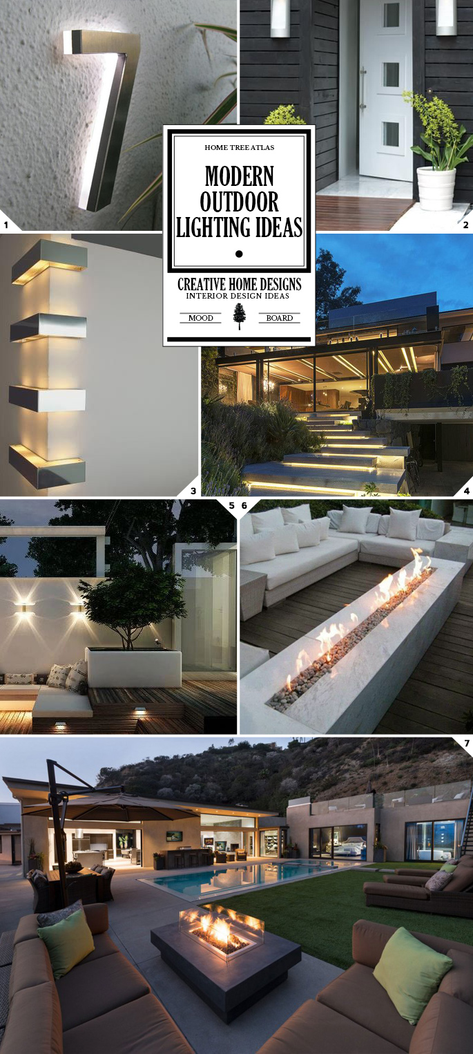A Bright Safe Space: Modern Outdoor Lighting Ideas