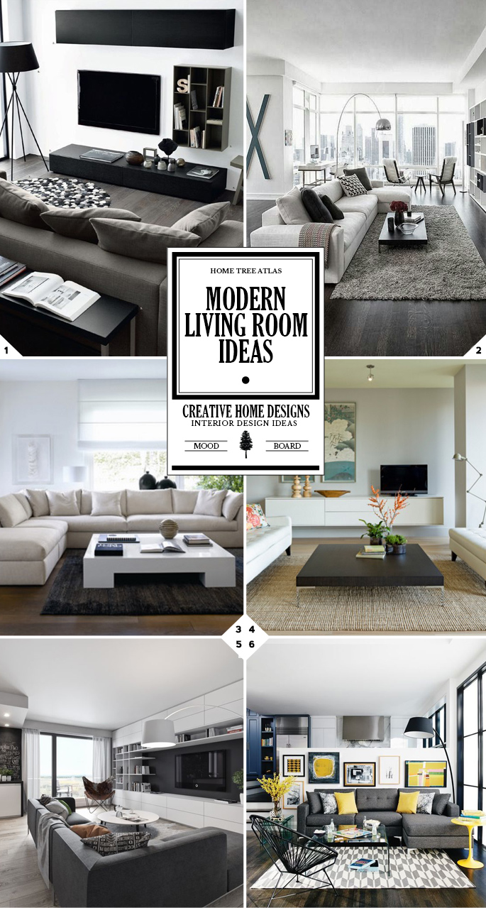 Staying Up To Date: Modern Living Room Ideas