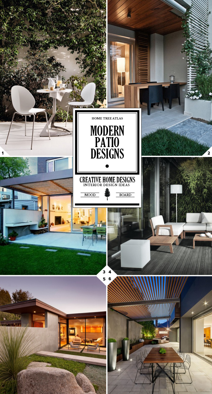 Outdoor Living: Modern Patio Design Ideas | Home Tree Atlas